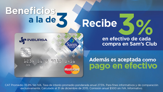 ATarjeta de Cr�dito Sam�s Club